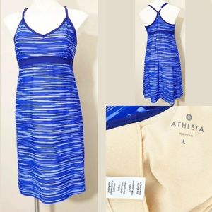 Athleta Purple Violet swim dress Large.